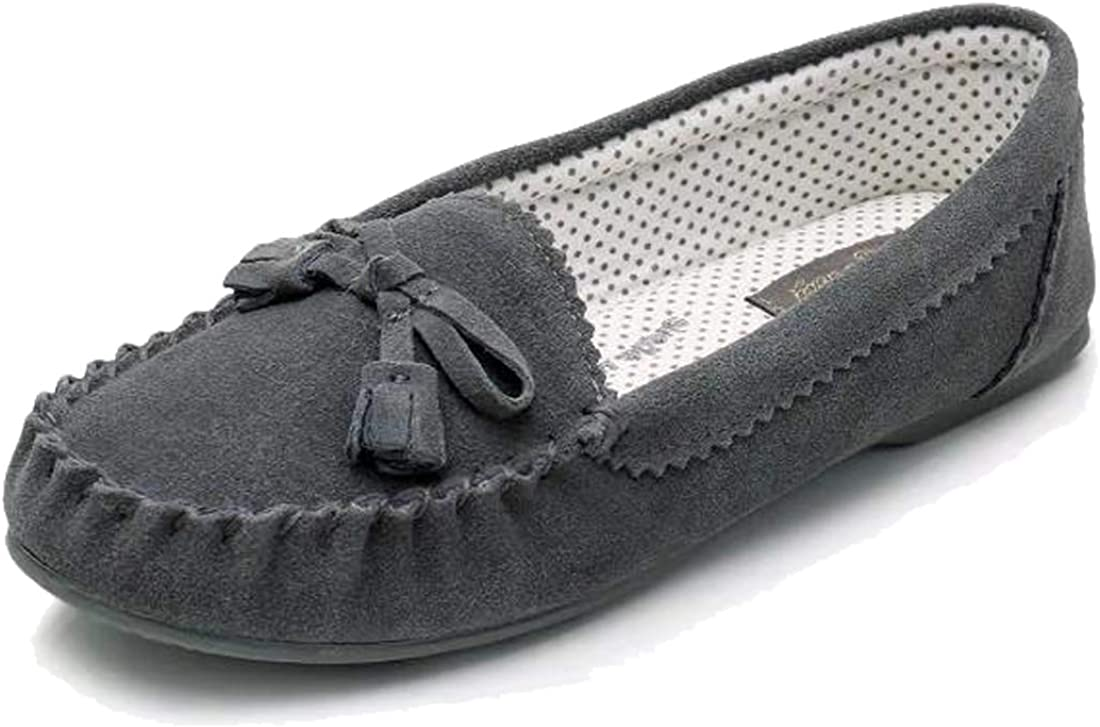 Real Fancy Moccasin Slippers