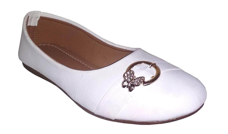 sdshopping Women Ballet Flats White