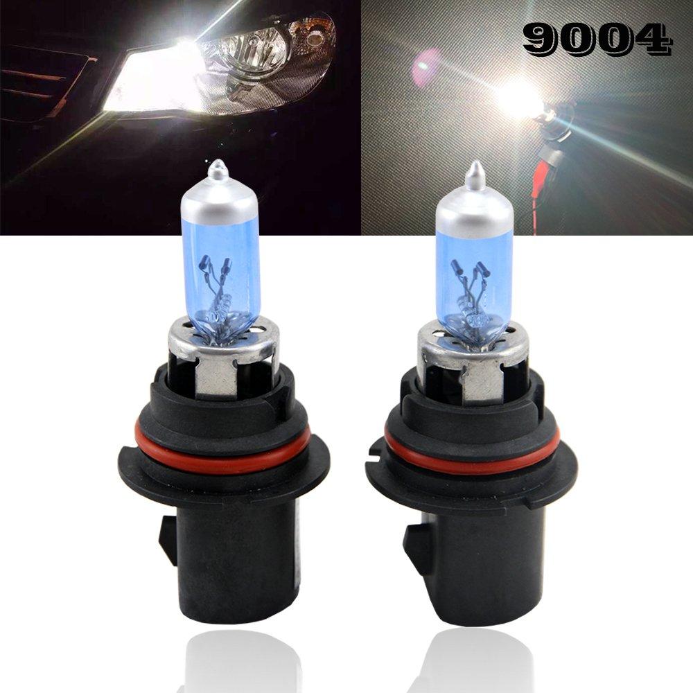HIR2 9012 Halogen Head Light Bulb - 12V Halogen Light Replacement For Auto Car Truck SUV Motorcycles Head Lamp Driving Fog Light Bulbs (9012) shaobo