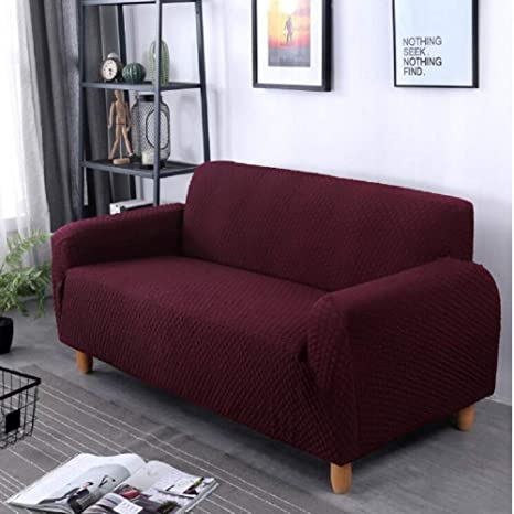 Amazon.com: Funda de sofá elástica Jacquard, tela 1 2 3 4 ...