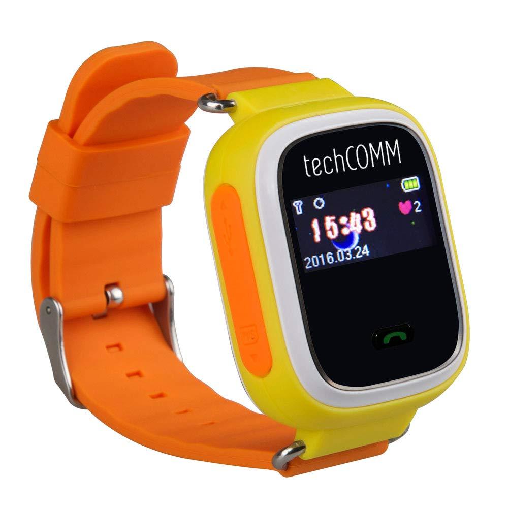 TechComm G900 Kids Smart Watch Fitness Tracker GPS Tracker Girls & Boys