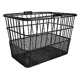 Sunlite Standard Mesh Bottom Lift-Off Basket w/ Bracket, Black