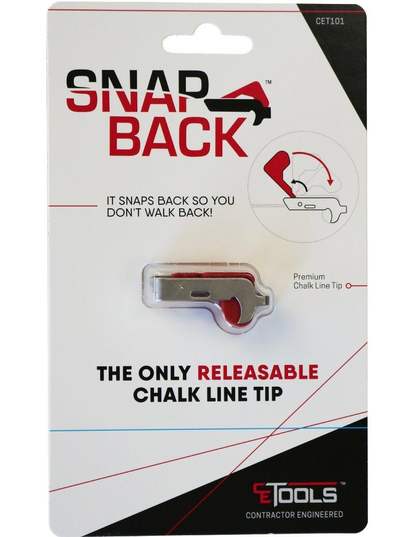 L/ínea de tiza snapback con punta liberable.