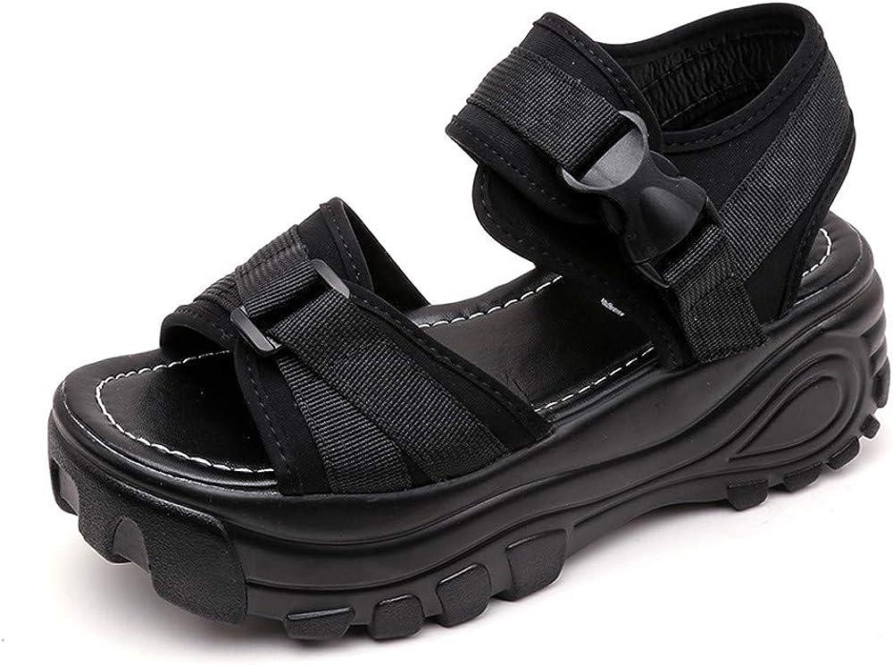 BingYELH Sandal Sporty Platform Sandals