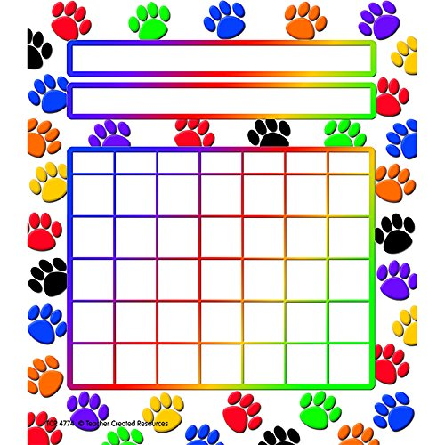 incentive charts with stickers - 8