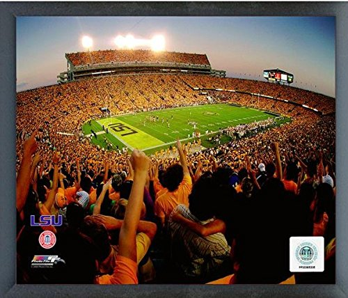 (Tiger Stadium LSU Tigers NCAA Photo (Size: 17