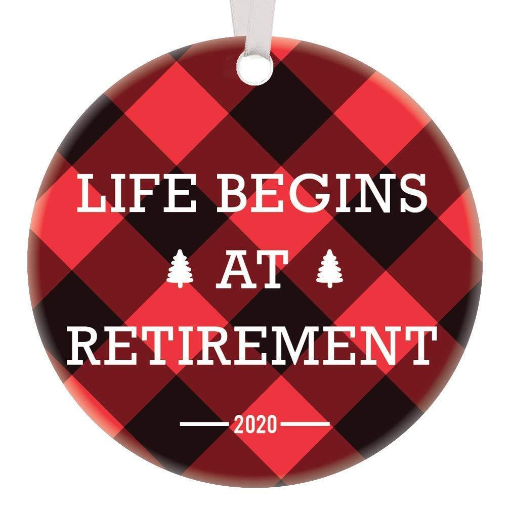2020 Retirement Christmas Ornament