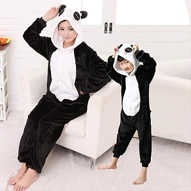 Onesie Pijamas, Monos Negros de Dibujos Animados para niños, Ropa ...