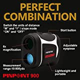 PINPOINT900-Golf-Laser-rangefinder-with-Pin-Seeking-and-Slope-Function-Japanese-High-Performance