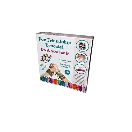 Buy fun friendship bracelet kit diy art kit paper craft kit fun friendship bracelet kit diy art kit paper craft kit solutioingenieria Images