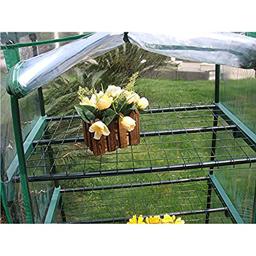 ... 4 Tier Mini Greenhouse Portable Deck Patio Greenhouse  ...