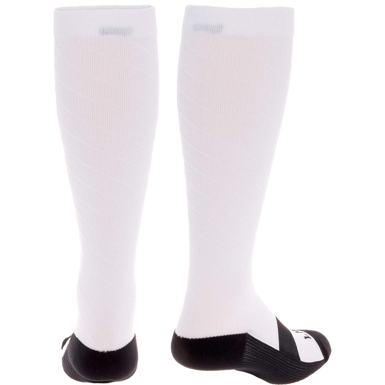 20-30 mmHg Graduated Firm Lightweight Knee High Sport Socks for Men /& Women 2 Pack LISH Bolt Running Compression Socks