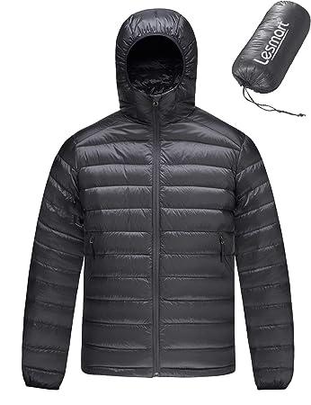 new styles 19c79 9c217 Leichte Daunenjacke Herren Kapuze Ultraleichte Winterjacke Steppjacke Puff  Jacke