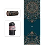 "wwww pido Yoga Towel Non Slip Sweat Absorbent Towel Convenient Widened Folded Fitness Blanket with Bag 72""x26…"