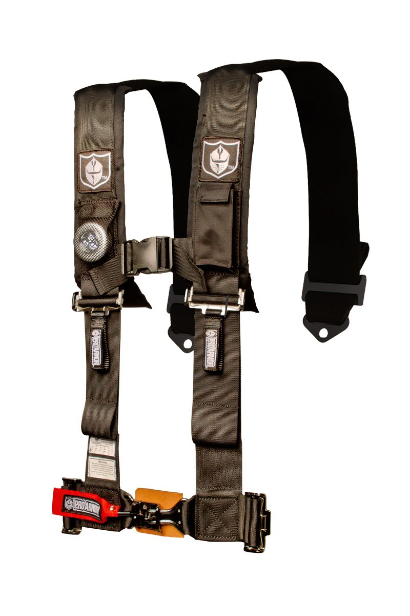 Pro Armor Black 5-Point Harness with 3'' Pads A115235