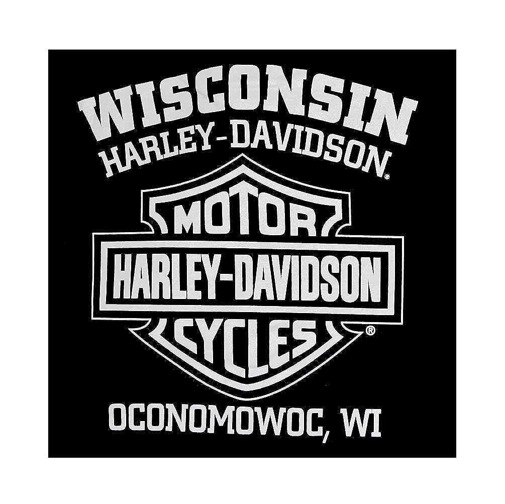Black 30296661 Hooded Sweatshirt Zippered Harley-Davidson Mens Eagle Hoodie