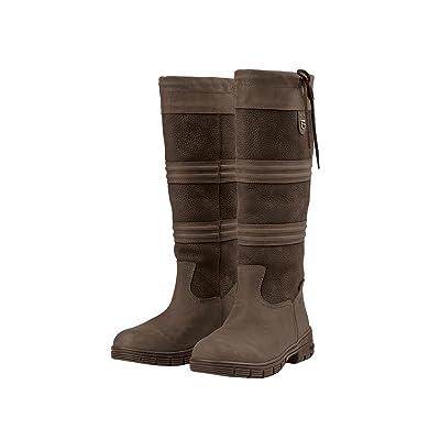 Dublin Husk Boots Chocolate Ladies 8.5
