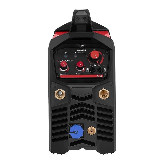 Stamos Germany - S-WIG 200 IGBT - Soldador TIG - 200 A IGBT 2/4 Tiempos - Envío Gratuito: Amazon.es: Bricolaje y herramientas