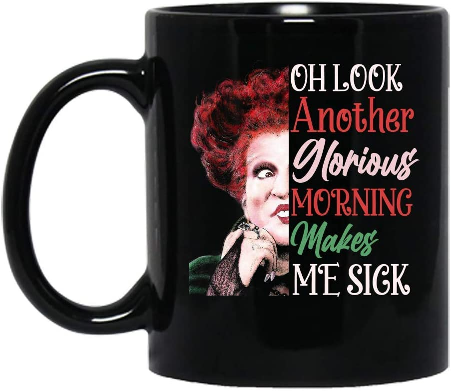 Hocus Pocus Witches Halloween Costume Party Ceramic Mug Graphic Coffee Mugs