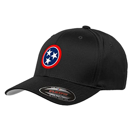 a32cbe366a24a Nashville Tennessee State Flag Flexfit Premium Classic Yupoong Wooly Combed  Hat 6277 - S M