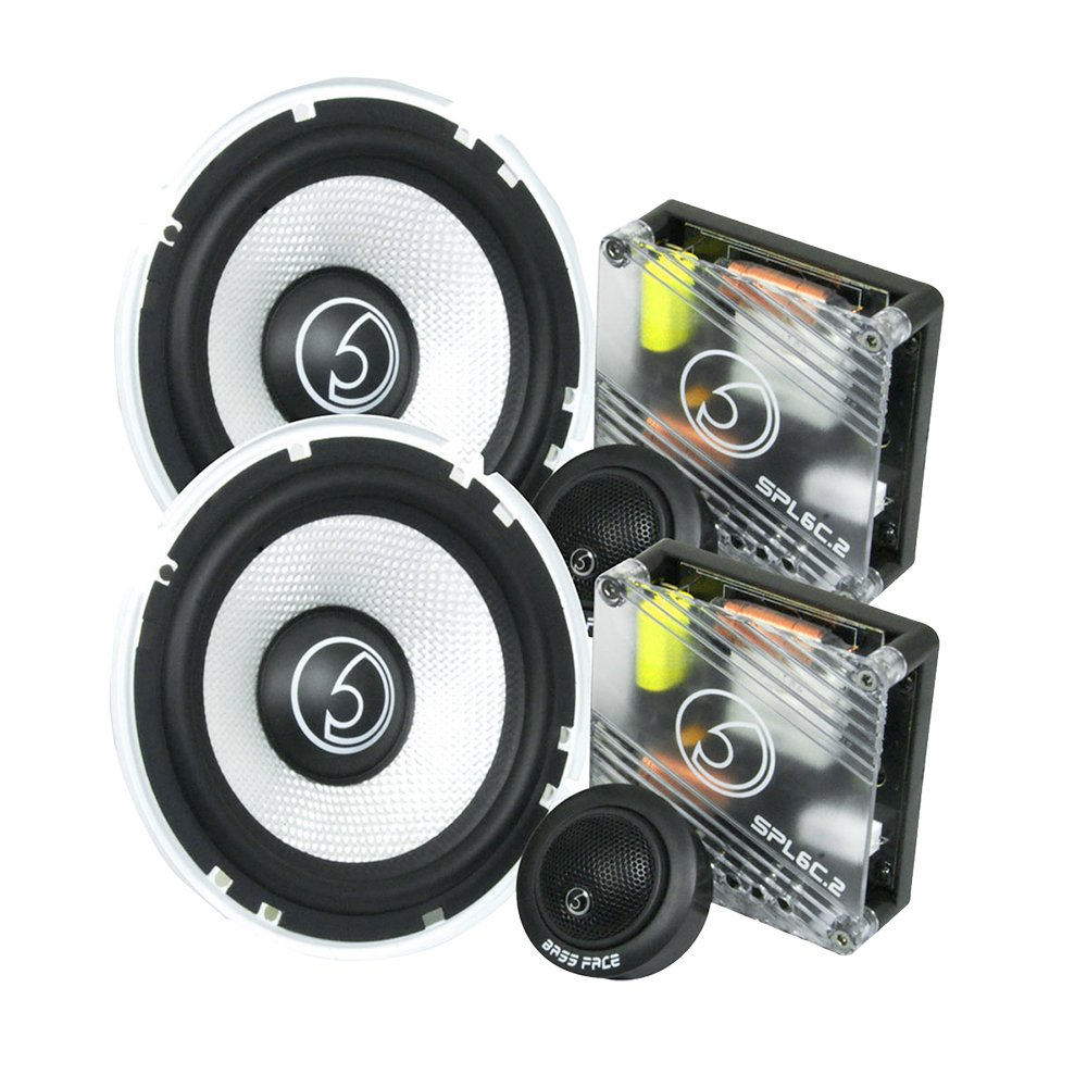 Bass Face SPL6C.2 900W 6.5 inch 17cm Component Car Speaker Set