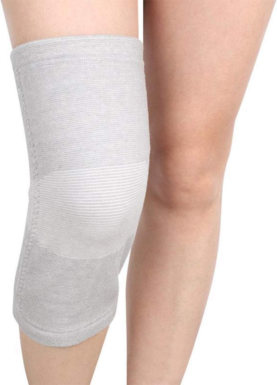 Tourmaline Self Heating Kneepad Magnetic Therapy Knee Support Heating Belt Massager Pad Bone Care U2,Gray
