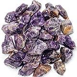Unihom 1 lb Bulk Rough Amethyst Crystal - Large
