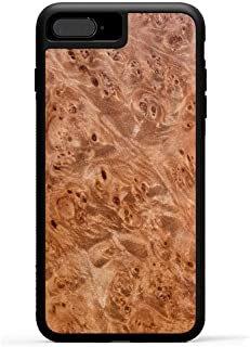 product image for Carved - iPhone 8 Plus/iPhone 7 Plus/iPhone 6s Plus - Luxury Protective Traveler Case - Unique Real Wooden Phone Cover - Rubber Bumper - Maple Burl
