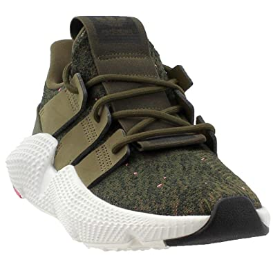 separation shoes 34bec c4ff5 Amazon.com   adidas Originals Men s Prophere Trace Olive Running White Pink  9M   Fashion Sneakers