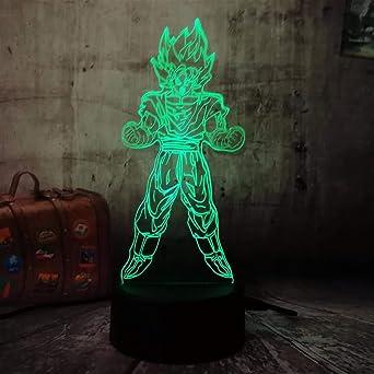 Luz de la noche de wangZJ para los niños iluminación llevada 3d ...