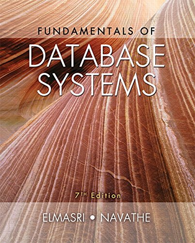 Fundamentals of Database Systems (7th Edition) cover