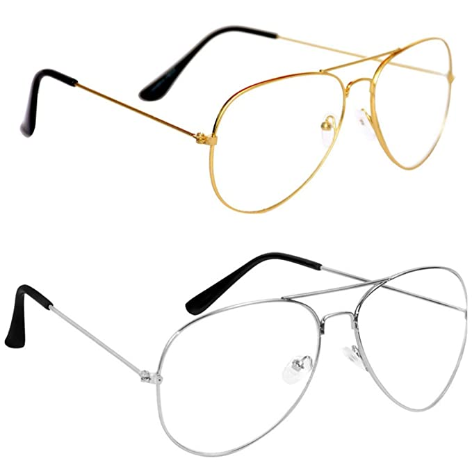 eba6f799e47 insh enterprises Combo of Aviator Style Sunglasses for Men and Women  (cammercfd
