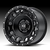 "XD Series by KMC Wheels XD129 Holeshot Satin Black Wheel (17x9""/5x127mm, -12mm offset)"