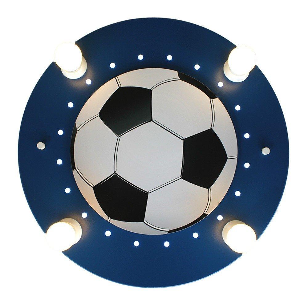 LED Fussball dunkelblau 4er Deckenlampe elobra 127766