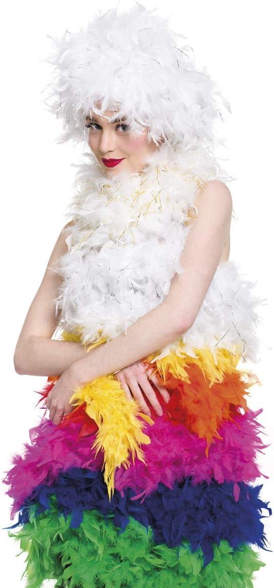 Folat 62076 Feather Boa Green 180cm