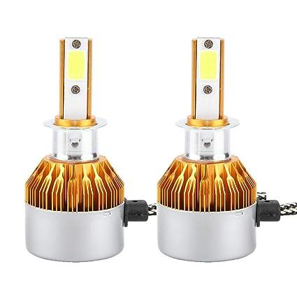 H3 par para C6 H4 Bombilla LED para Coche Linterna LED H1 1 dCtxshQBr