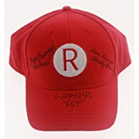 "$159 » ""A League Of their Own"" Autographed Rockford Peaches Hat - Lori Petty, Megan Cavanagh, Ann Cusack!"