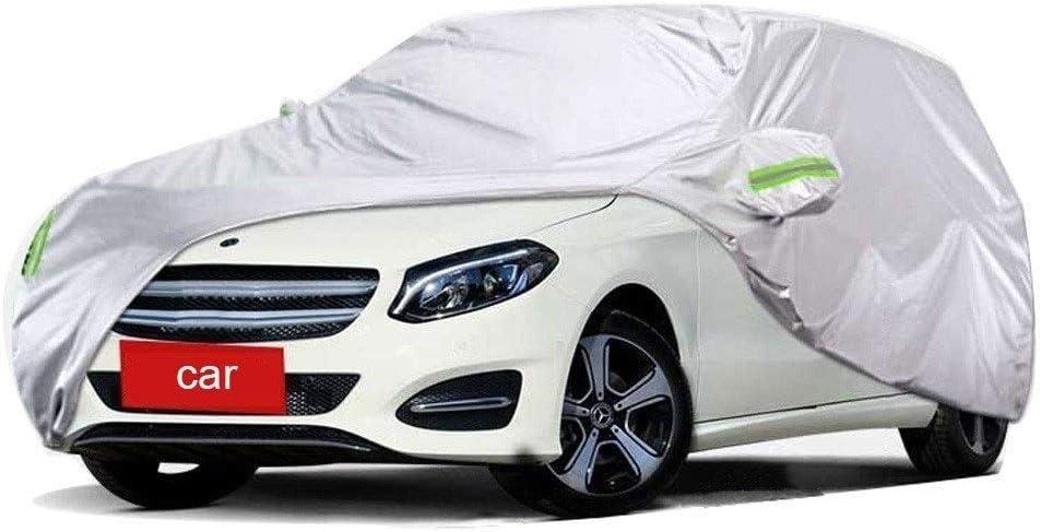 Fundas para coche Compatible Con Mercedes Benz B Clase B180 B200 B260 Funda Protectora Exterior Para Cubierta Del Autom/óvil Protecci/ón UV A Prueba De VientoTranspirable Resistente Al Polvo Impermeable