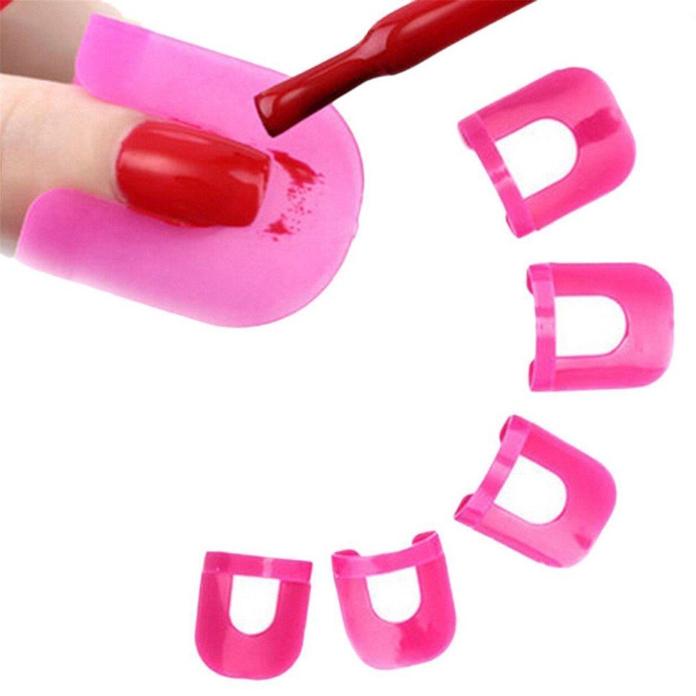 Frcolor Nagellack Schablone 26 Stück in 10 Größen Nagellack einfach ...