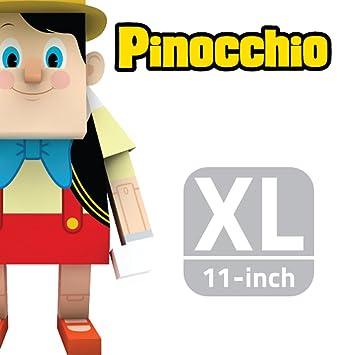momot Arte de Papel Juguete - Disney Pinocho DE 11 Pulgadas (XL Tamaño 30 cm