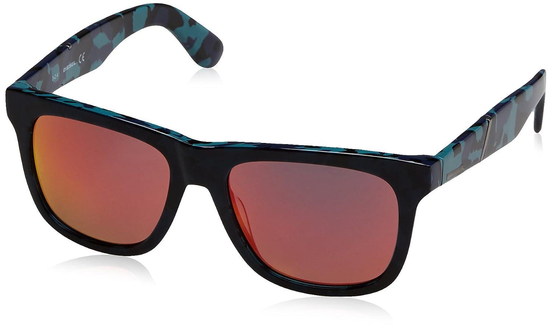 fc81d5e46de Amazon.com  Diesel Eyewear Mens Square Sunglasses (Blue)  Clothing