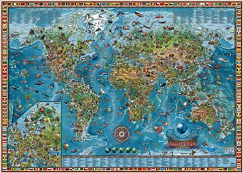 Buy world map fun to learn wall chart pack book online at low buy world map fun to learn wall chart pack book online at low prices in india world map fun to learn wall chart pack reviews ratings amazon gumiabroncs Image collections