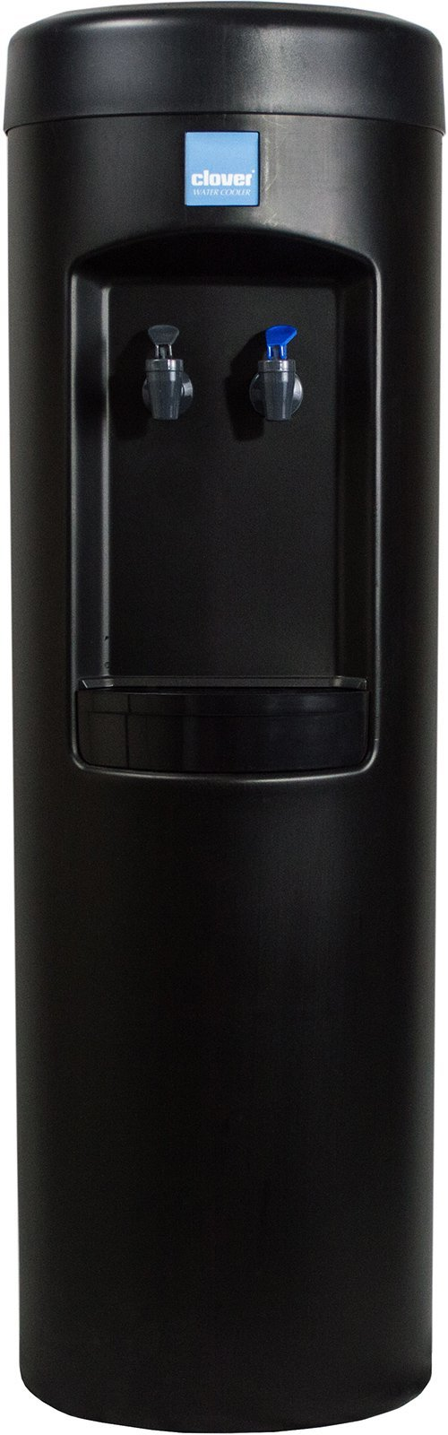 Clover B7B Water Dispenser -Room Temperature and Cold, Bottleless With Install Kit, Conversion Kit -Black