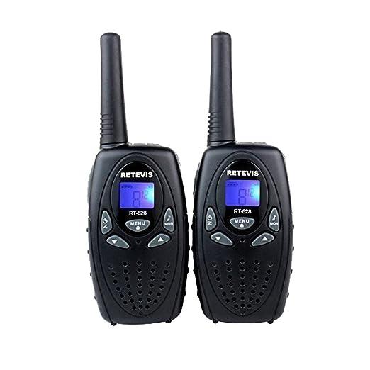 60 opinioni per Retevis RT-628 Walkie Talkie VOX 8 Canali UHF 446MHz Mini Ricetrasmettitore