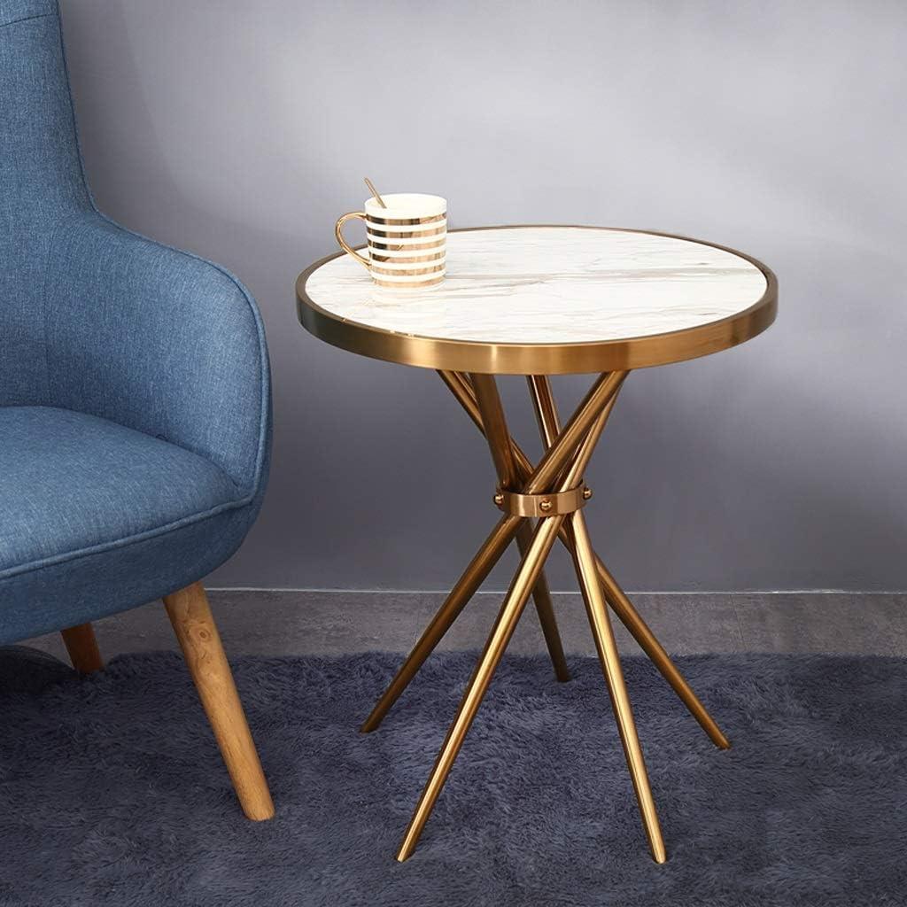 ステンレス鋼の大理石のコーヒーテーブルの居間の軽い現代小さくテーブル
