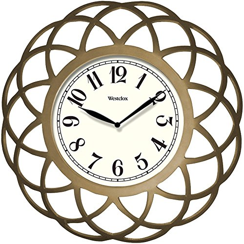 "Westclox 32929 14"""" Spiral Wall Clock electronic consumer"