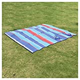 (2) Foldable Beach, Picnic Blankets, Water and Sand