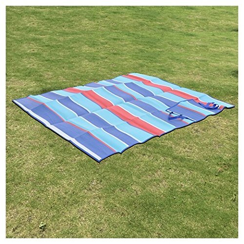 (2) Foldable Beach, Picnic Blankets, Water and Sand Resistant folds compactly, large 72''x59'', durable, light and handy mat to keep in a car. (2-Pack) Perfect for all your Outdoor Adventures!