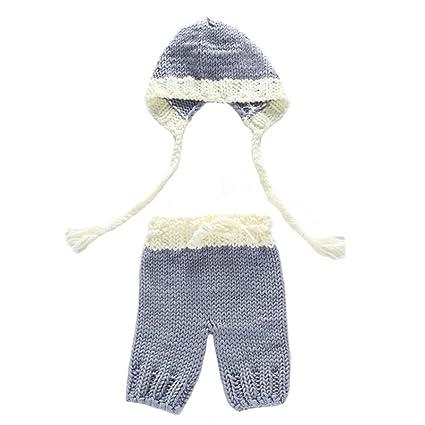 Para fotos de bebé sombrero + pantalones, Y56 nueva ...
