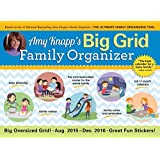 Amy Knapp Big Grid 2016 Wall Calendar: The Essential Organization and Communication Tool for the Entire Family by Amy Knapp (2015-08-15)